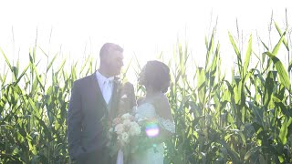 Eva & Russell | White Barn at Lucas Farm