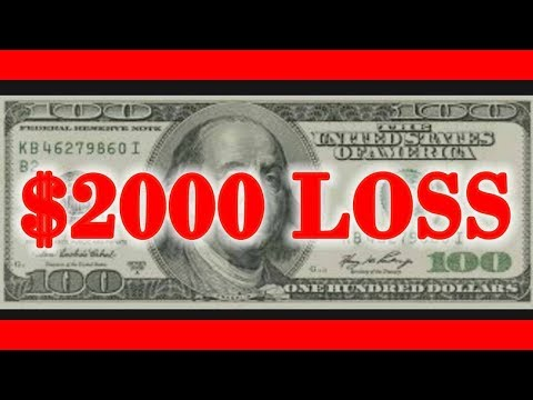 $2000 LOSS Trading Stocks! | My Stock Market Portfolio!