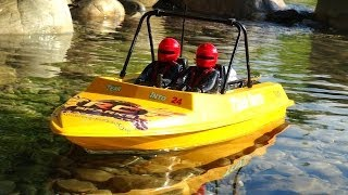 RC ADVENTURES - Class 4 Rapids - Extreme Jet Boating (NQD Tear Into - Modified & Radio Controlled)