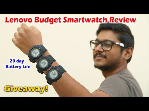 lenovo-budget-smartwatch-with-20-day-battery-life...under-2000-rs-!!