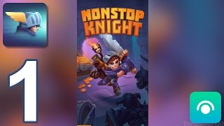 Nonstop Knight - Gameplay Walkthrough Part 1 - Floors 1-5 (iOS, Android)