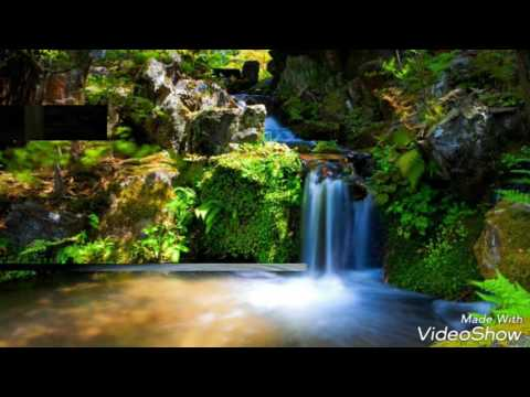 Alan walker faded instrumental ,Beautiful waterfall , Amazing Water fall.