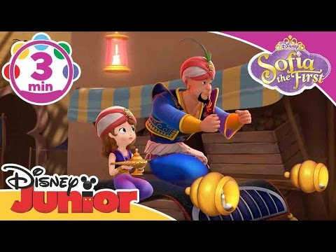 Sofia the First | Genie Rules Song | Disney Junior UK