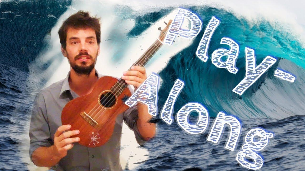 Riptide - Easy ukulele Play-along with chords
