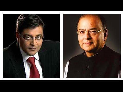 Arnab Goswami Interviews Arun Jaitley | ET Global Business Summit