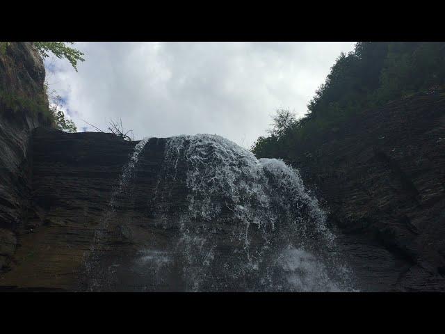 SWITZERLAND - La Saufia waterfall, Champéry