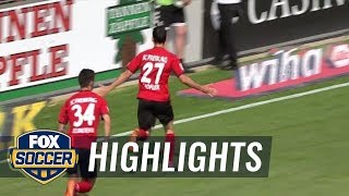 SC Freiburg vs. FC Augsburg | Bundesliga Highlights | FOX SOCCER