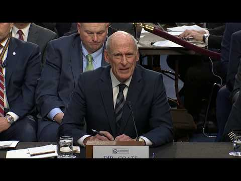 DNI Coats delivers annual worldwide threats assessment in Senate testimony