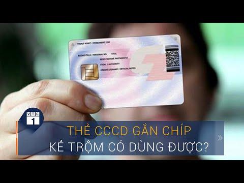 Điều gì xảy ra khi thẻ căn cước công dân gắn chíp rơi vào tay kẻ trộm?   VTC1