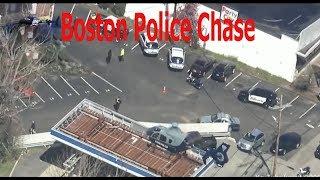 Boston Police Chase