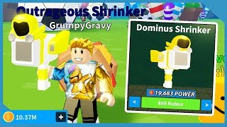 I Got The Max Power Dominus Shrinker In Roblox Shrink Ray Simulator I Got The Max Power Dominus Shrinker In Roblox Shrink Ray Simulator I Got The Max Power Dominus Shrinker In Roblox Shrink Ray Simulator I Got