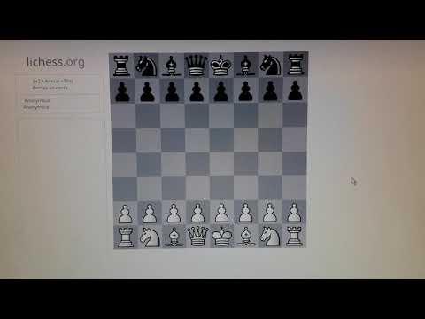 Parties d'échecs en direct (blitz)