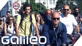 Fahrradstau in Kopenhagen   Galileo   ProSieben