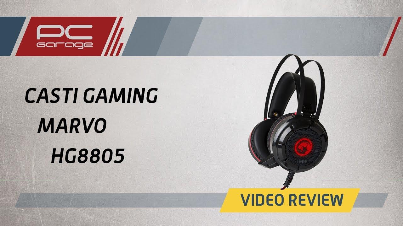 Video Review CASTI GAMING MARVO HG8805