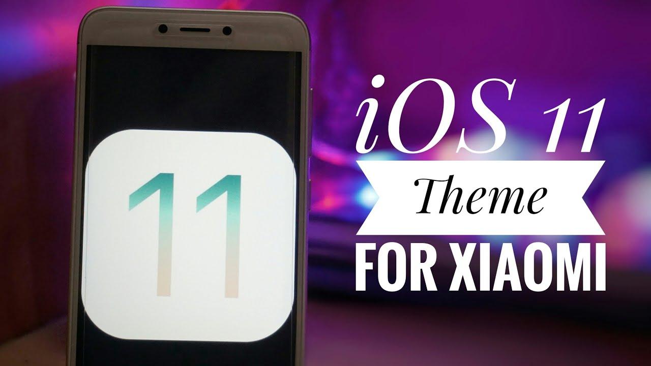 Make Any Xiaomi Phone Look Like iPhone - iOS 11 Theme