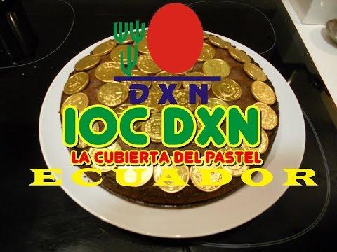 DXN ECUADOR FACEBOOK LIVE  IOC ICING on the CAKE noviembre 26