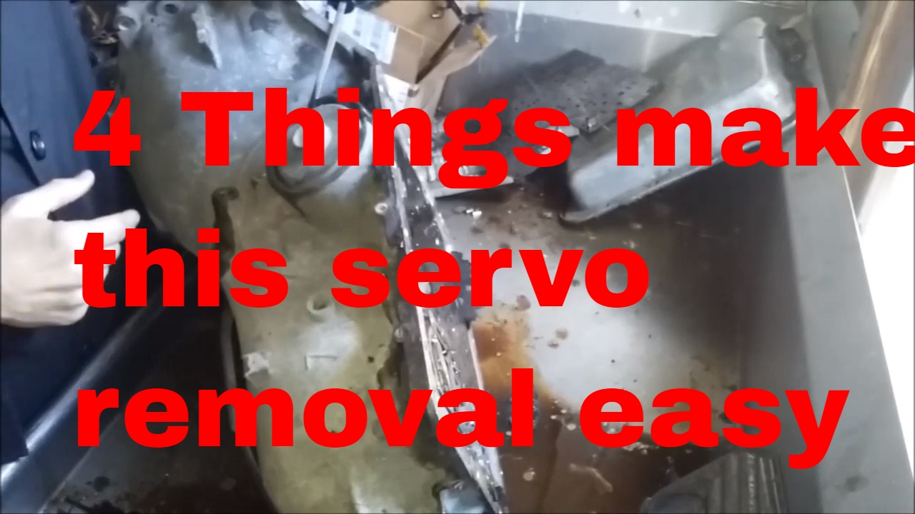 700R4 Automatic Transmission Rebuilding Servo Removal 4L60E