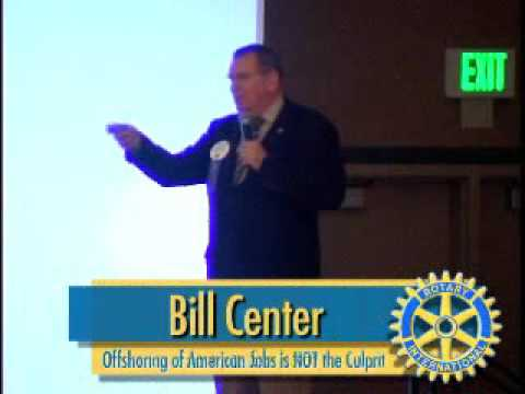 Rotary Luncheon March 28th 2007 Bill Center