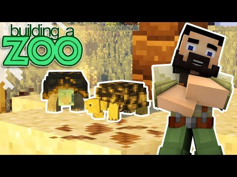 I'm Building A Zoo In Minecraft! - Box Turtles And Aviary! - EP06