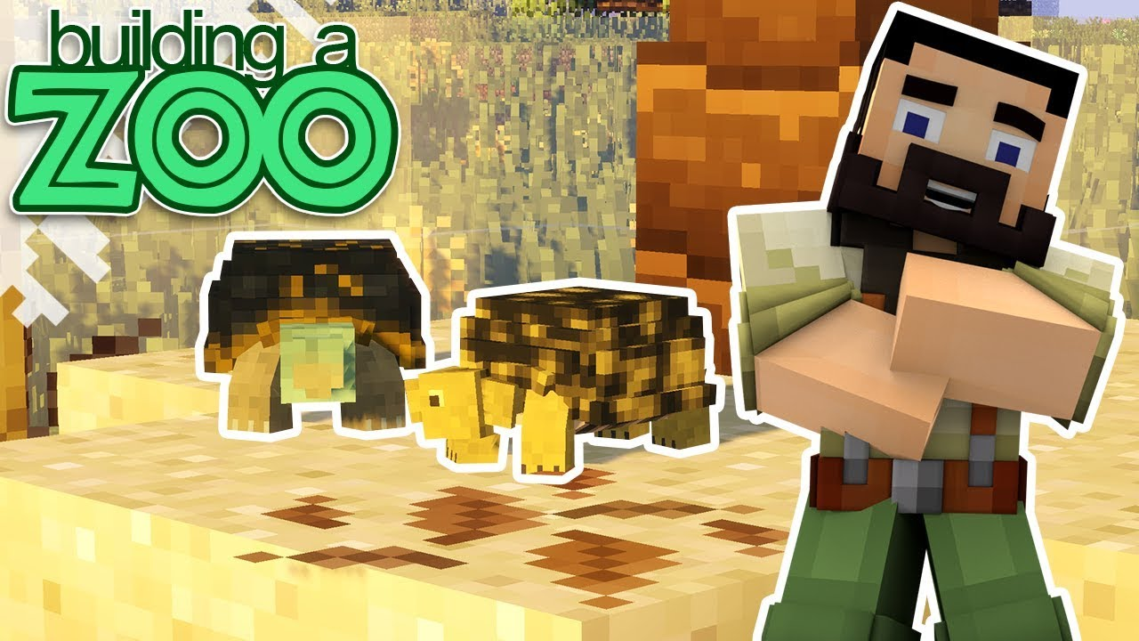 Download I'm Building A Zoo In Minecraft! - Box Turtles And Aviary! - EP06