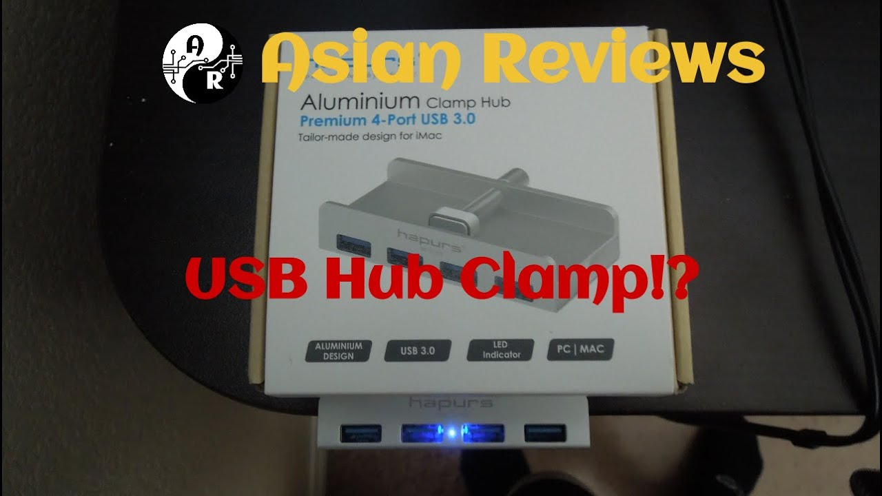 Desk Mounted Usb Hub Hapurs 4 Ports 3 0 Review
