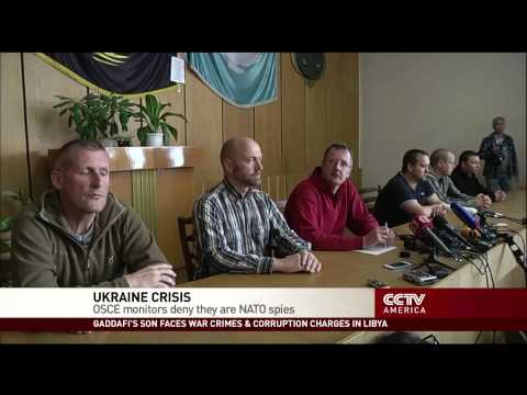 Pro-Russian Rebels Release One International Observer in Hostage