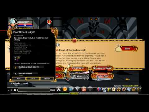 Aqw getting blood blades of nulgath