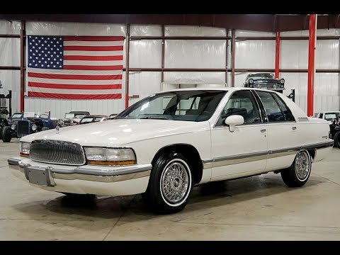1992 Buick Roadmaster Limited White