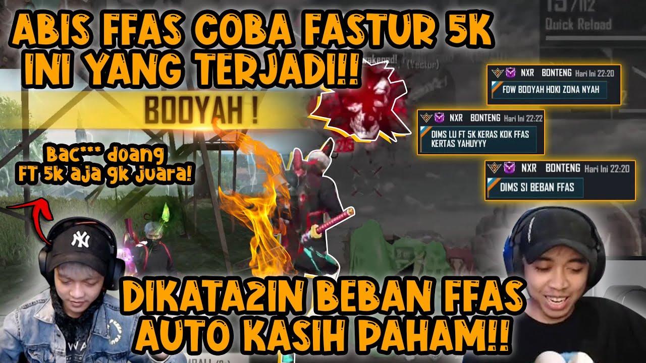 BANG DIMAS SAMA EFDEWE DI KATA2IN BEBAN FFAS?? AUTO KASIH FAHAMM!!!