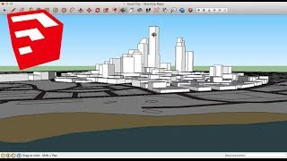 Speed-Building an Entire CITY on SketchUp - Part 3