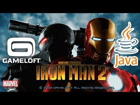 Iron Man 2 JAVA GAME (Gameloft 2010 Year) FULL WALKTHROUGH