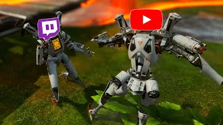 Killing the Worlds Sweatiest Twitch Streamers! (Apex Legends)