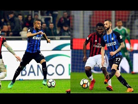 Marcelo Brozović And Rafinha Alcântara vs AC Milan(04/04/2018)17-18 HD 720p by轩旗