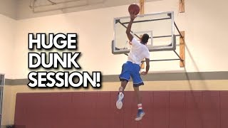 HUGE Dunk SESSION! CJ Champion, Isaiah Rivera, Tucker Pollard, Nico Christie, Jake Whitehouse Video