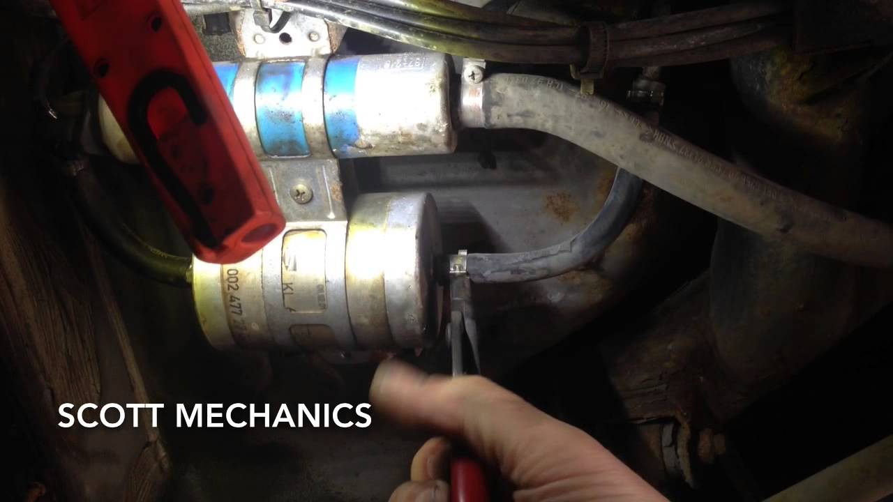 Mercedes Benz Fuel Leak Find And Fixed By Scott Mechanics Youtube Gl450 Filter
