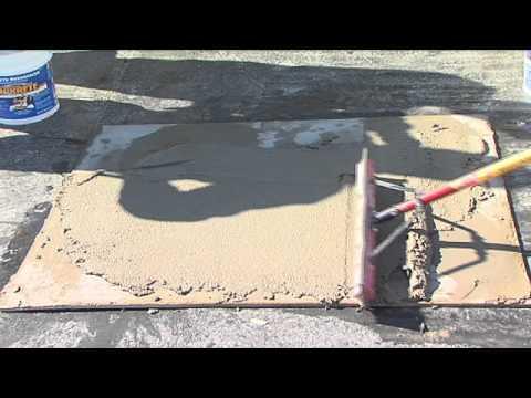 comment appliquer un scellant pour beton