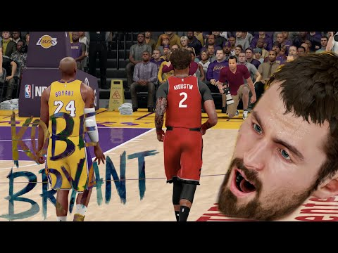 NBA 2K16 MyCareer - Last Game Against Kobe Bryant!? Kevin Love Gets Murdered!!!