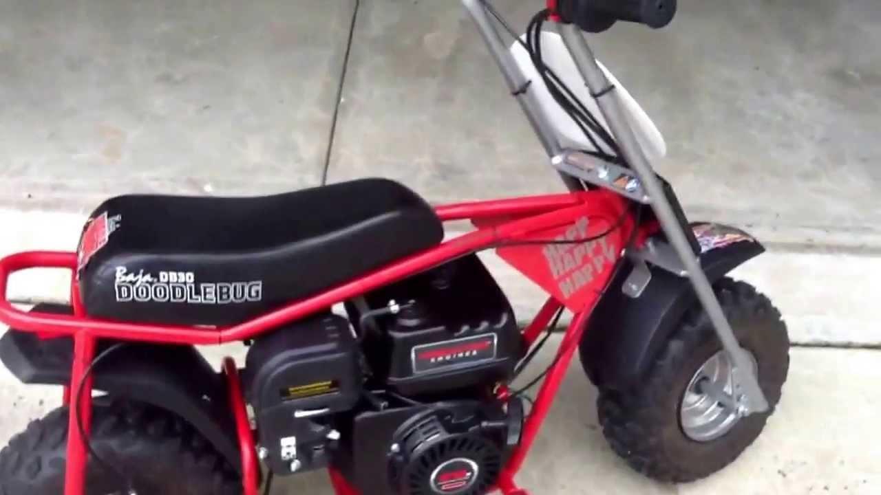 6 5 Hp Baja Doodlebug Mini Bike Youtube
