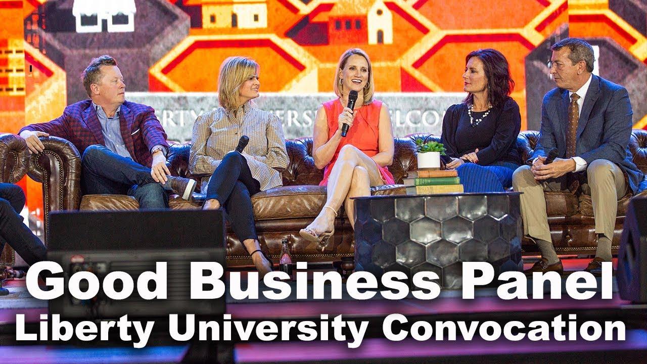 Good Business Panel - Liberty University Convocation