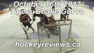 October 16th 2017 Tigers Hockey Goalie GoPro