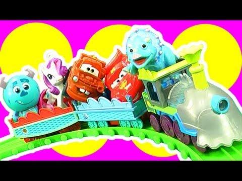 Dinosaur Train & Diesel 10 Dinosaur Train Mix N Match Toy Choo Choo Fun