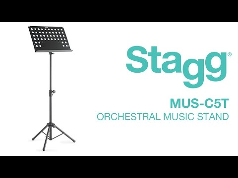 MUS-C5 T Orchestral Music Stand | Stagg Music