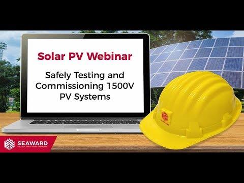 Safely Testing 1500V PV Systems