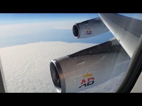 Rehearsal flight Air Belgium OO-ABB Airbus A340-300 Brussels South Charleroi Airport