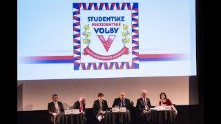 Předvolební debata ke Studentským prezidentským volbám