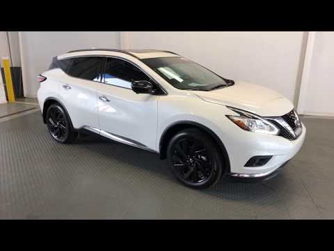 P5703 2017 Nissan Murano Platinum AWD Midnight Edition w/ Tech Pkg
