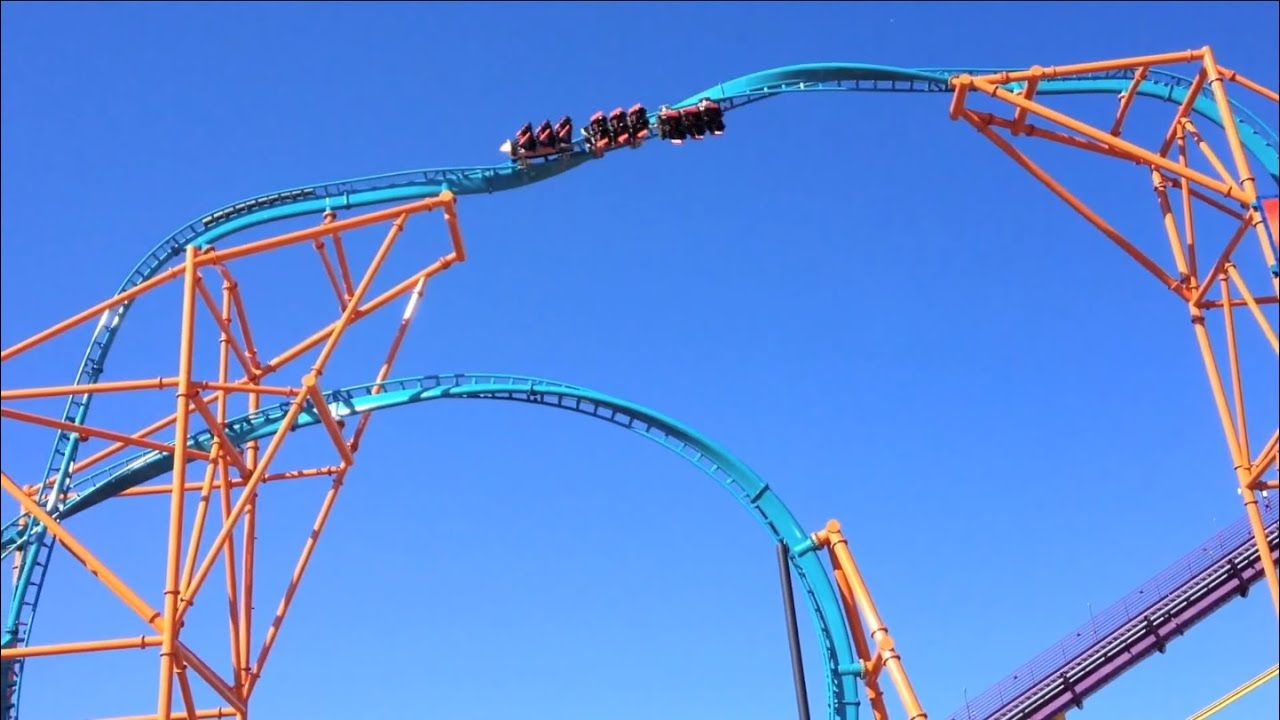 Elegant New Roller Coaster Tempesto At Busch Gardens Williamsburg