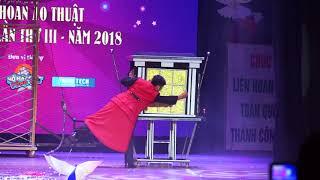 Tiết mục đã đoạt huy chương vàng trong Liên Hoan Ảo Thuật toàn quốc 2018 | Ảo thuật gia Trần Thịnh