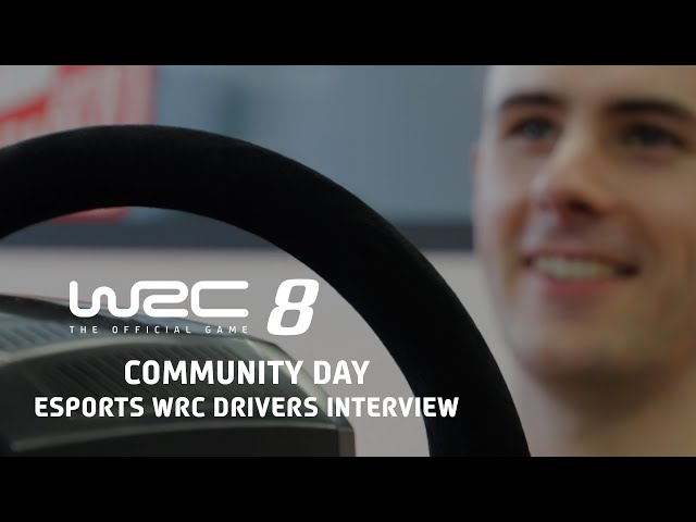 WRC 8 | Community Day - eSports WRC Drivers Interview