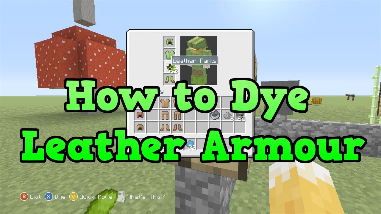 Watch - How to armor wear in minecraft xbox video